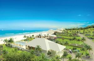 Beach club rendering