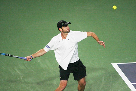 Andy Roddick in China