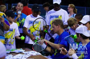 mark-signing-autographs. The Mark Knowles Celebrity Tennis Invitational ...