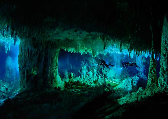 Blue Room Cave Kauai