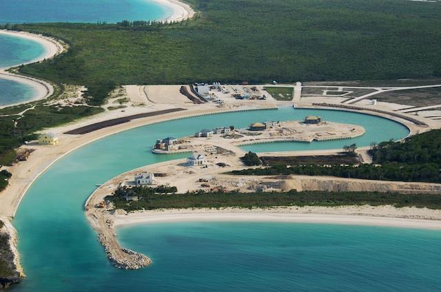 Schooner Bay Village Under Construction - Harbour Opened